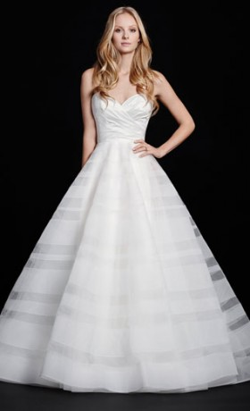 HPLillyBridal Gown by Hayley Paige Front