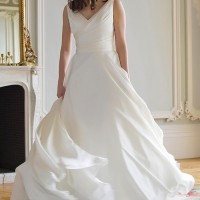 AJCORA Bridal Gown by Augusta Jones Back