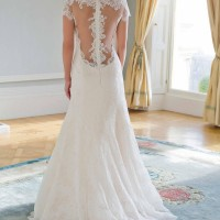 AJKARINA Bridal Gown by Augusta Jones Back
