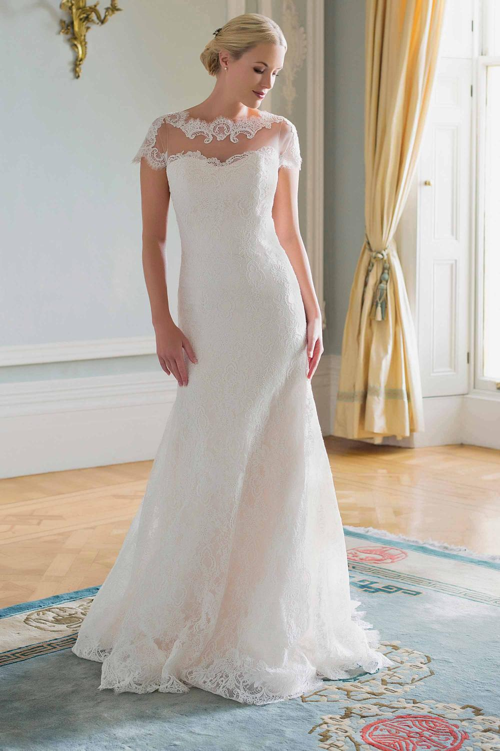AJKARINA Bridal Gown by Augusta Jones Front