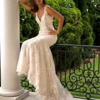 EM1553 Bridal Gown by Eve of Milady Front