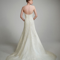 MTTCecilie Bridal Gown byMatthew Christopher Back