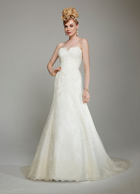MTTCecilie Bridal Gown byMatthew Christopher Front