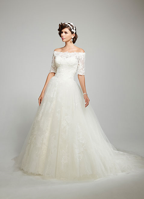 MTTConstance Bridal Gown by Matthew Christopher Front