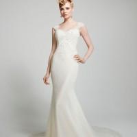 MTTVienna Bridal Gown by Matthew Christopher Front