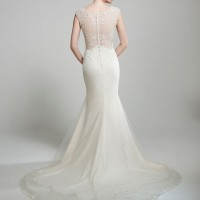 MTTVienna Bridal Gown by Matthew Christopher Back