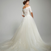 MTTConstance Bridal Gown by Matthew Christopher Back