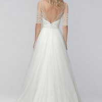 W2NELLY Bridal Gown byWTOO Back