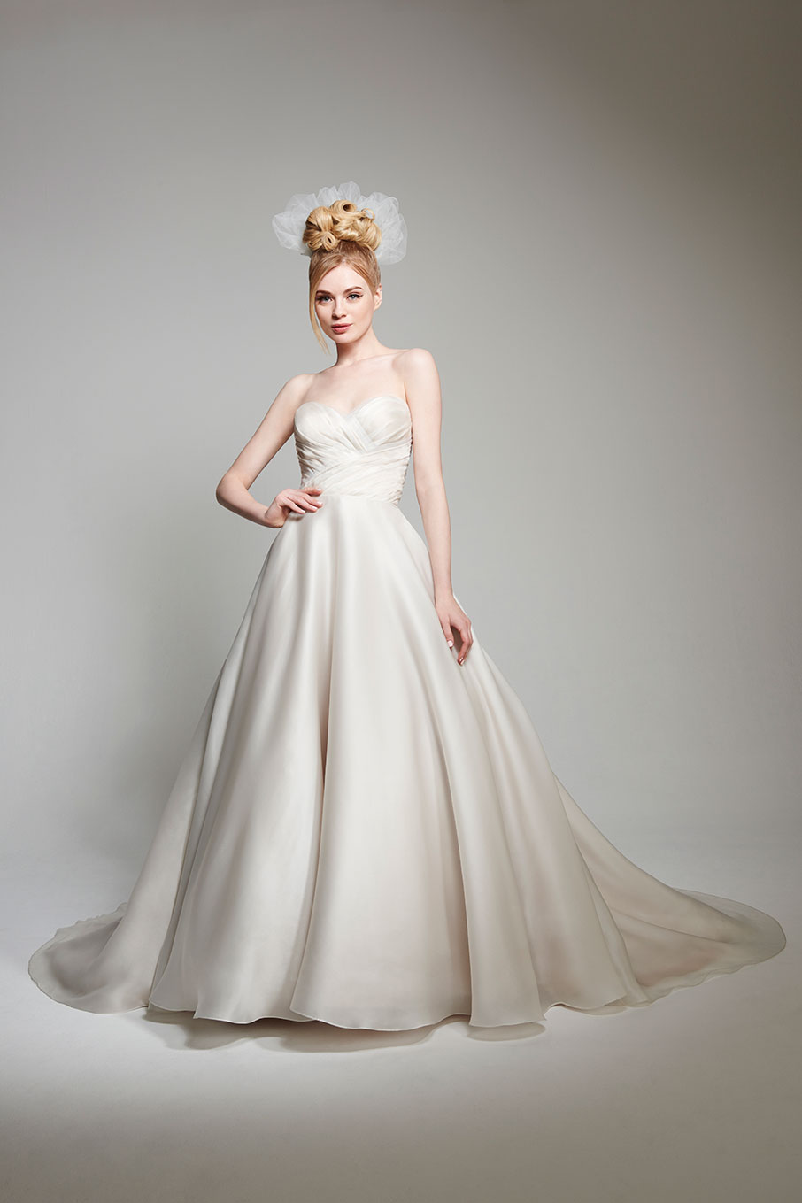 MCAbigail Bridal Gown byMatthew Christopher Front