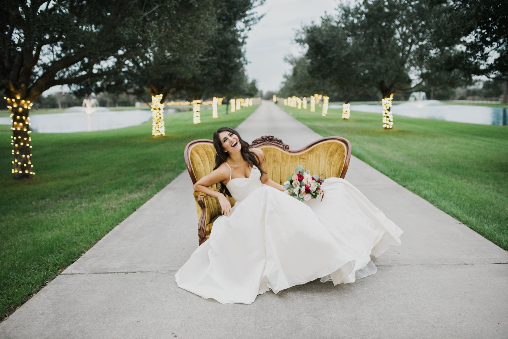 Real Bride StarDust Celebrations Dallas bridal Salon