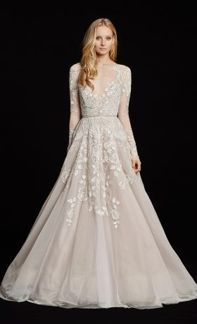 HPHAYLEY Bridal Gown by Hayley Paige Front