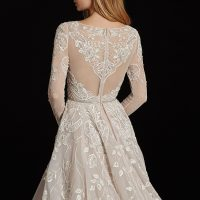HPHAYLEY Bridal Gown by Hayley Paige Back