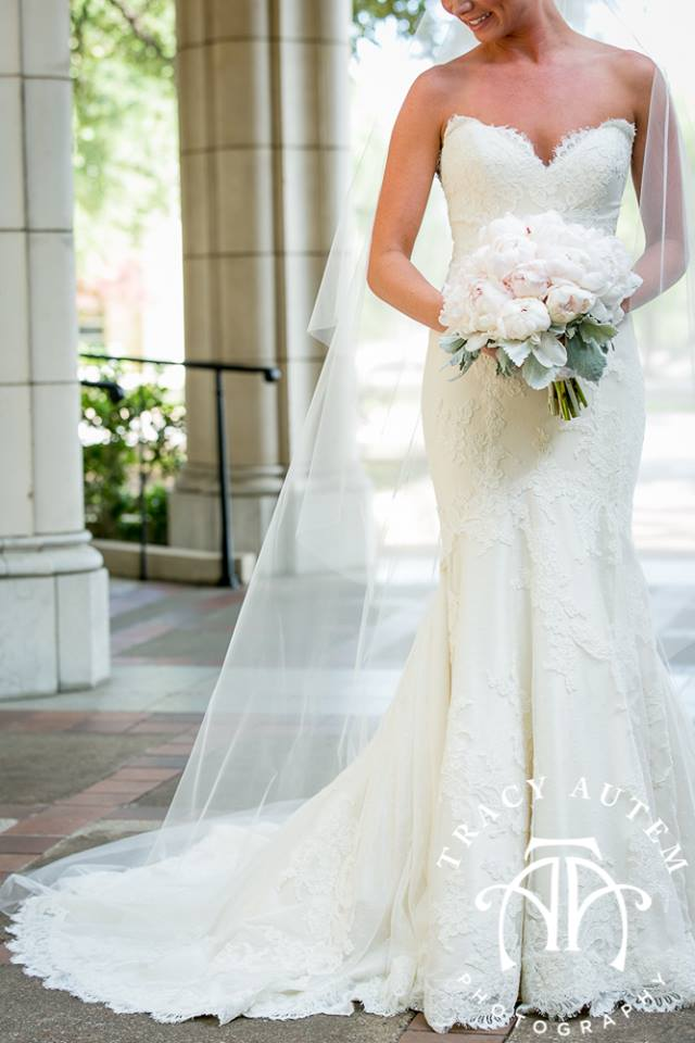Real Wedding | Matthew Christopher Couture Bridal Gowns ...