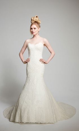 MCIsabel Bridal Gown byMatthew Christopher Front