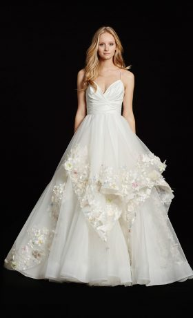 Paige bridal gown by Hayley Paige available at StarDust Celebrations, a dallas bridal boutique