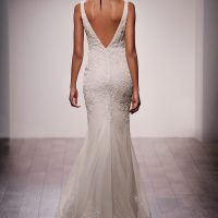 LZ3605 Bridal Gown by Lazaro Back