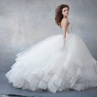 LZ3608 Bridal Gown by Lazaro Side