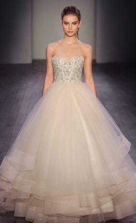 LZ3608 Bridal Gown by Lazaro Front
