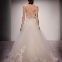 LZ3607 Bridal Gown by Lazaro Back