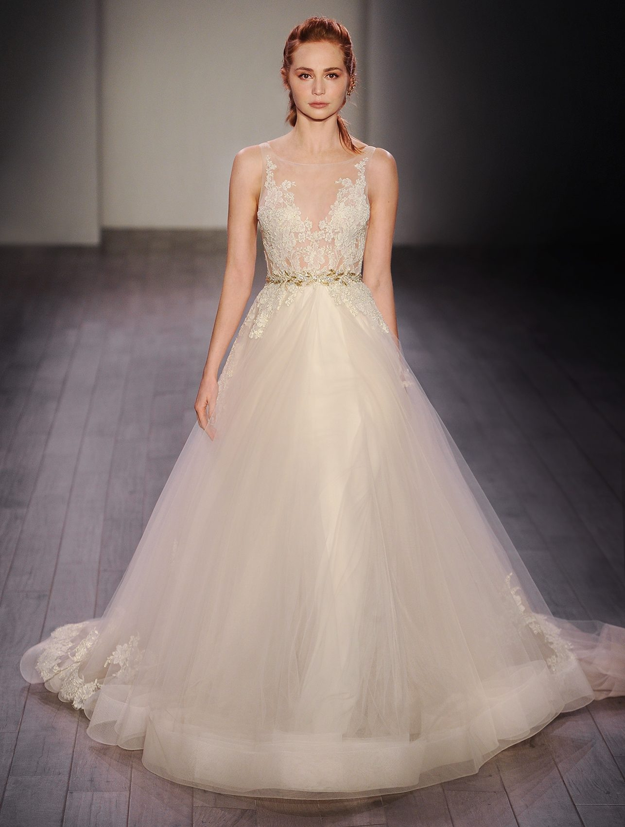 LZ3607 Bridal Gown by Lazaro Front