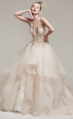 SMAmelie Bridal Gown by Sottero & Midgley Front