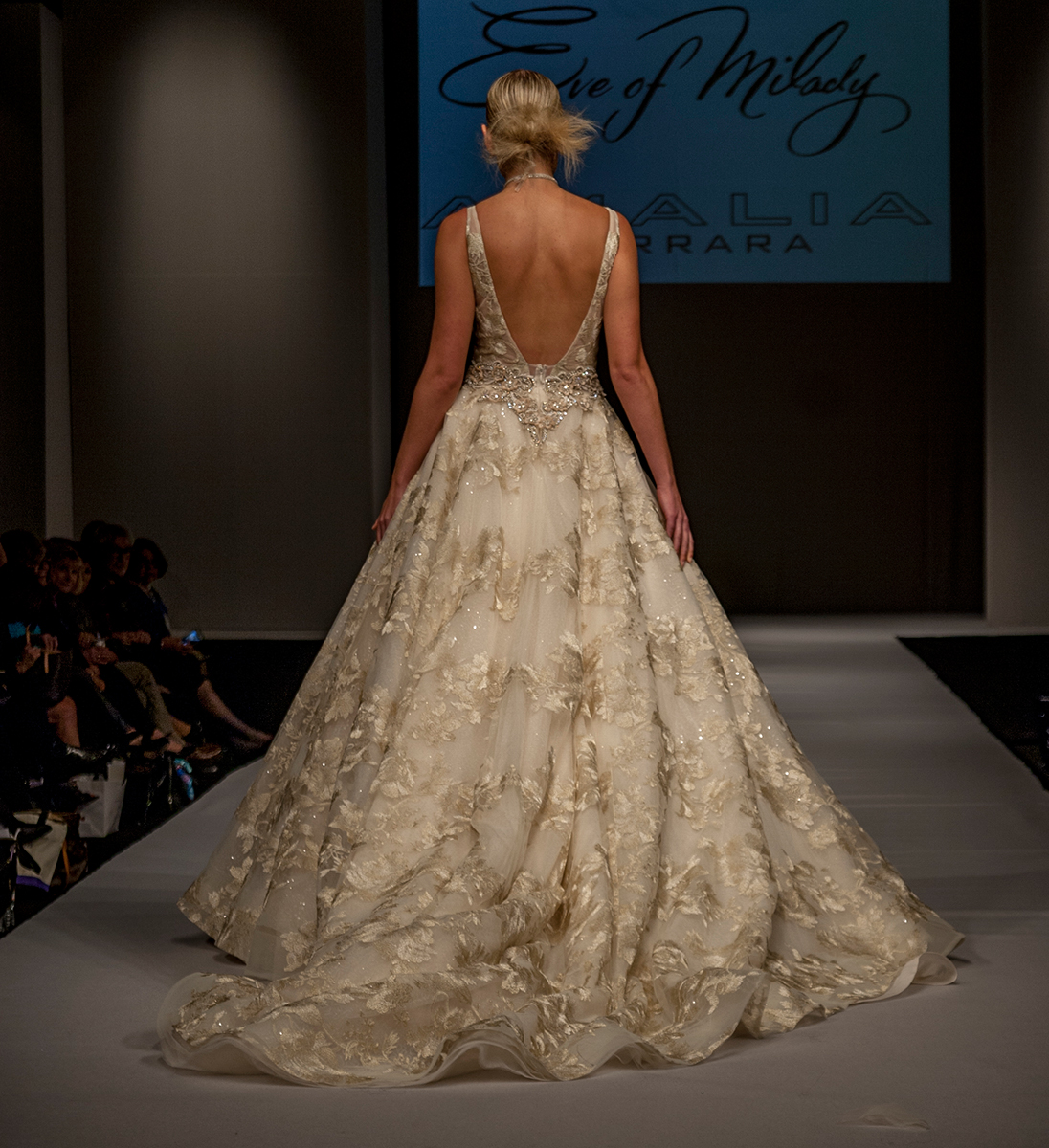 EM345 Bridal Gown By Eve Of Milady, Dallas Texas