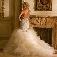 EM4348 Bridal Gown by Eve of Milady Back