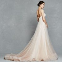 KFFlorence Bridal Gown by Kelly Faetanini Back Side