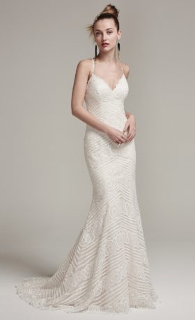 SMBexley Wedding Gown by Sottero & Midgley Front