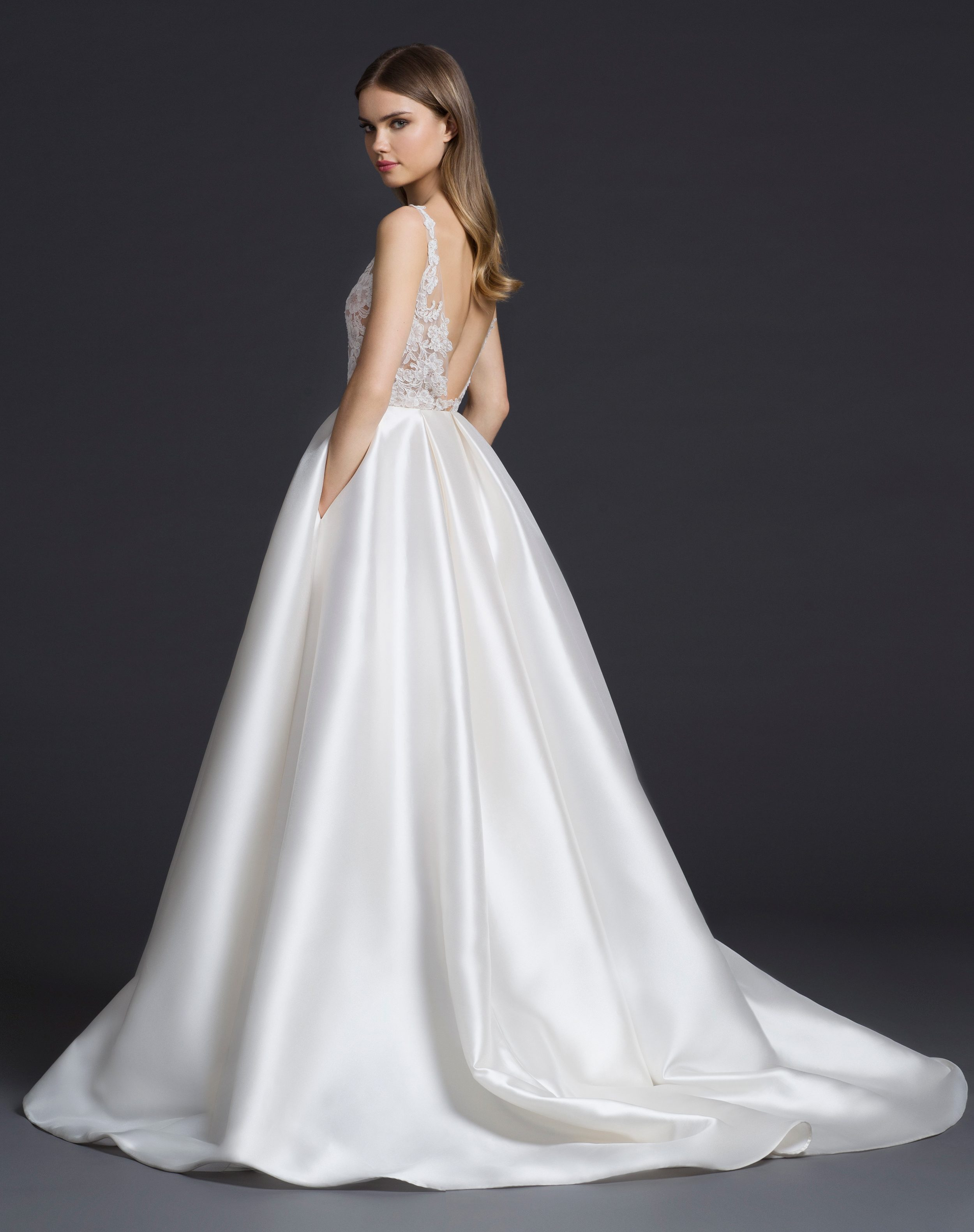 New Wedding Gowns from Lazaro Arrive at StarDust | StarDust Celebrations