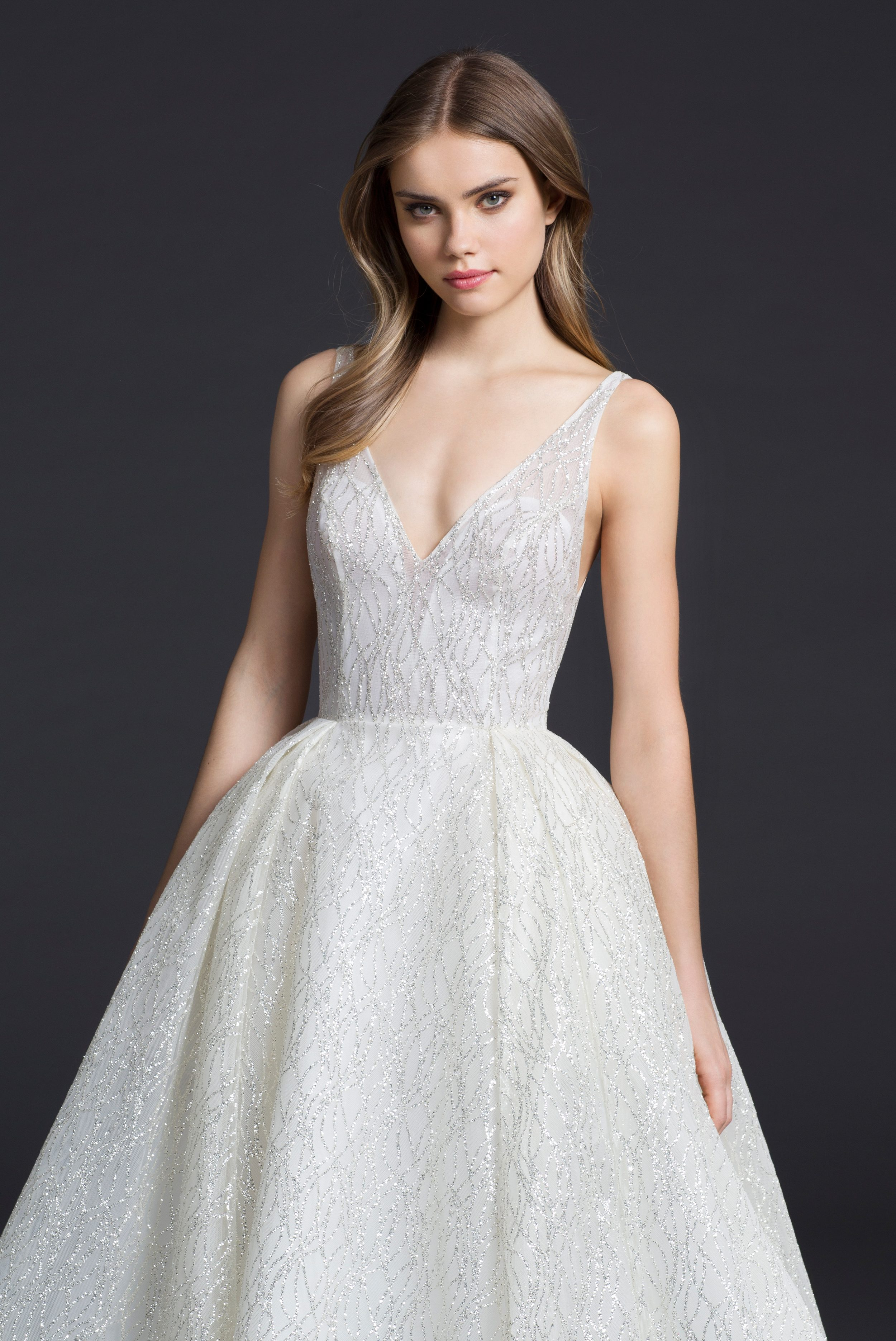 New wedding gowns from lazaro arrive at stardust for Wedding gowns and dresses