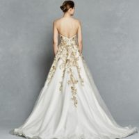 KFLeona Bridal Gown by Kelly Faetanini Back