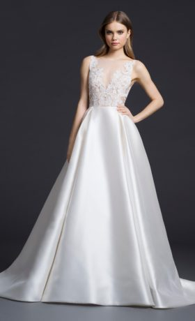 LZ3658 Bridal Gown by Lazaro Front