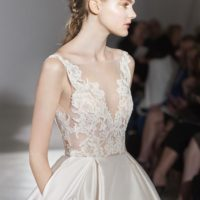 LZ3658Bridal Gown by Lazaro Side Front