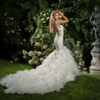 EM1563 Bridal Gown by Eve of Milady Side