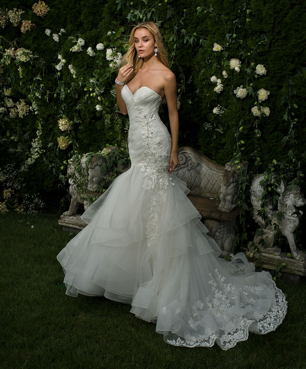 EM1568 Bridal Gown by Eve of Milady Front