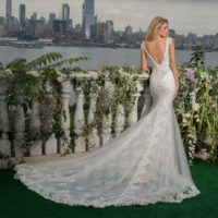 EM4351 Bridal Gown by Eve of Milady Back