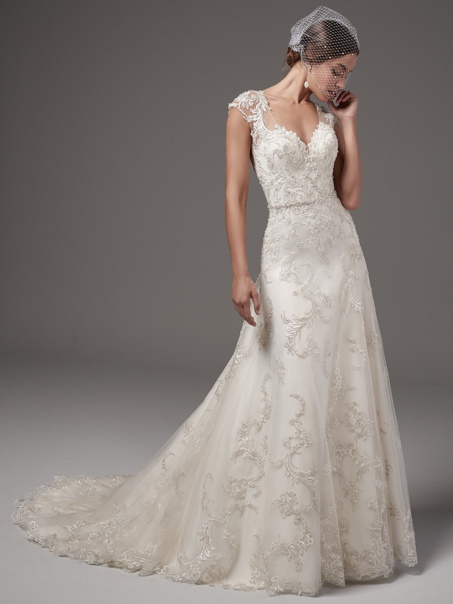 SMNICOLETTEBridal Gown bySottero & Midgley Full Front