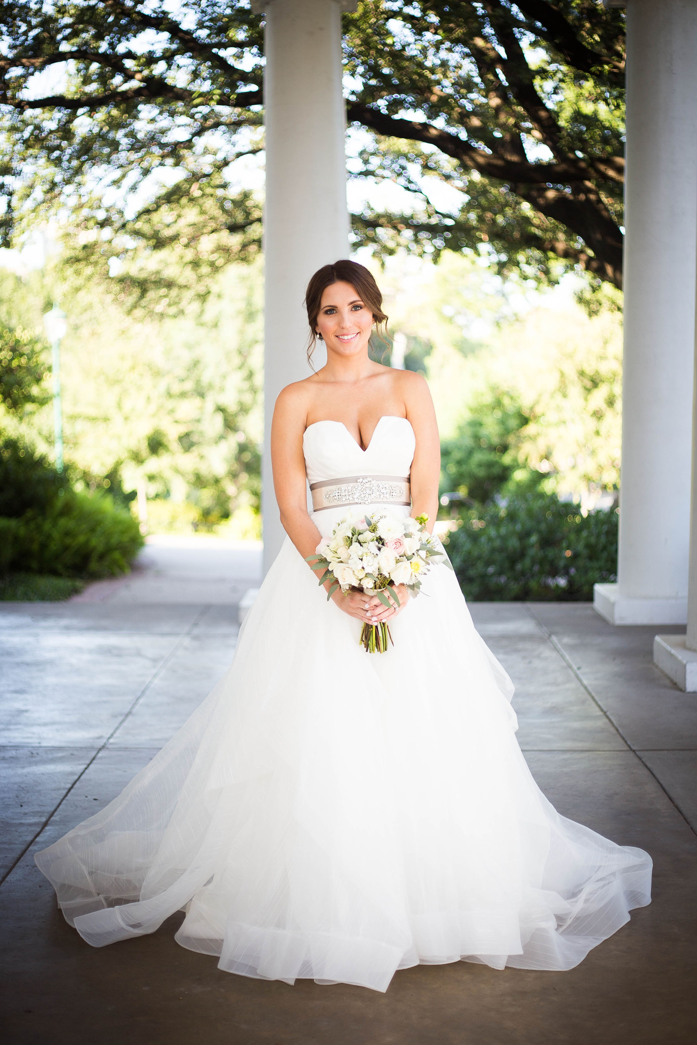 Real Bride: Meagan in Hayley Paige ball gown | StarDust Celebrations