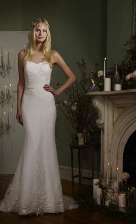 RBONJA Bridal Gown by Robert Bullock Bride Back Side Front