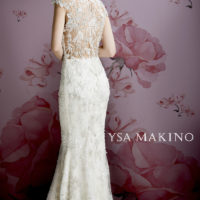 YM68874/OS Bridal Gown by Ysa Makino Back