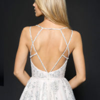 HPMARNI Bridal Gown by Hayley Paige Upper Back