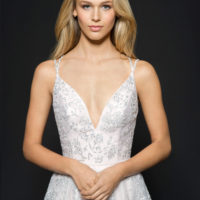 HPMARNI Bridal Gown by Hayley Paige Upper Front