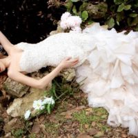 YM3113X Bridal Gown by Ysa Makino Front