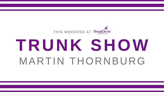 This Weekend at StarDust: Trunk Show - Martin Thornburg